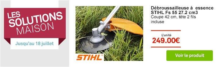 Solutions Maison - Débroussailleuse à essence STIHL Fs 55 l.42 cm