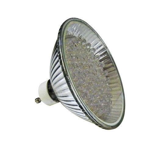 ampoule r flecteur led 5w 150lm quiv 40w gu10 bleu. Black Bedroom Furniture Sets. Home Design Ideas
