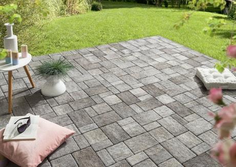 Un pavé multiformat pour la terrasse