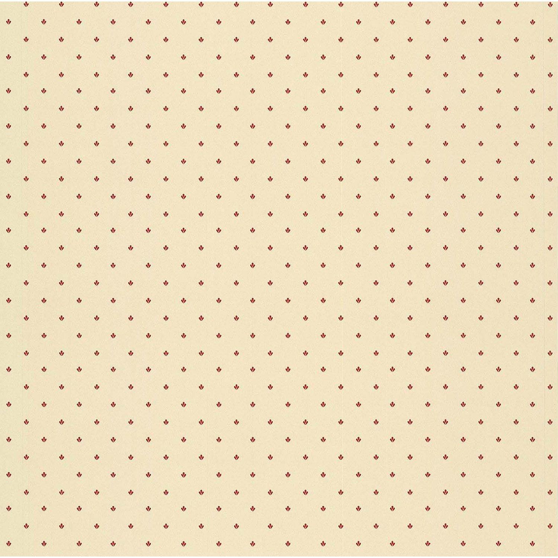 Papier peint motif beige rouge papier cuisine et bain for Papier peint cuisine rouge