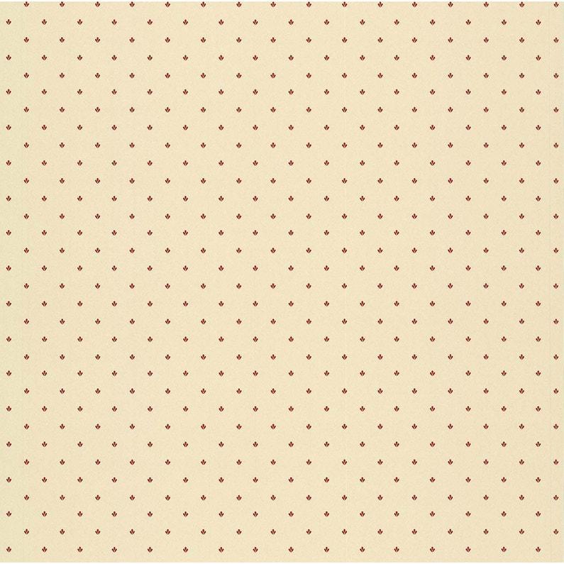 Papier Peint Motif Beige Rouge Papier Cuisine Et Bain Leroy Merlin
