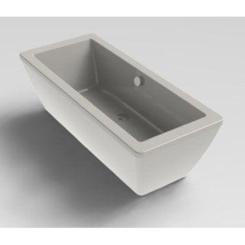 Tablier de baignoire L.180x l.80 cm blanc Tokyo