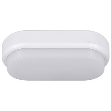 Hublot LED intégrée, 1 X 8 W, rond, blanc chaud