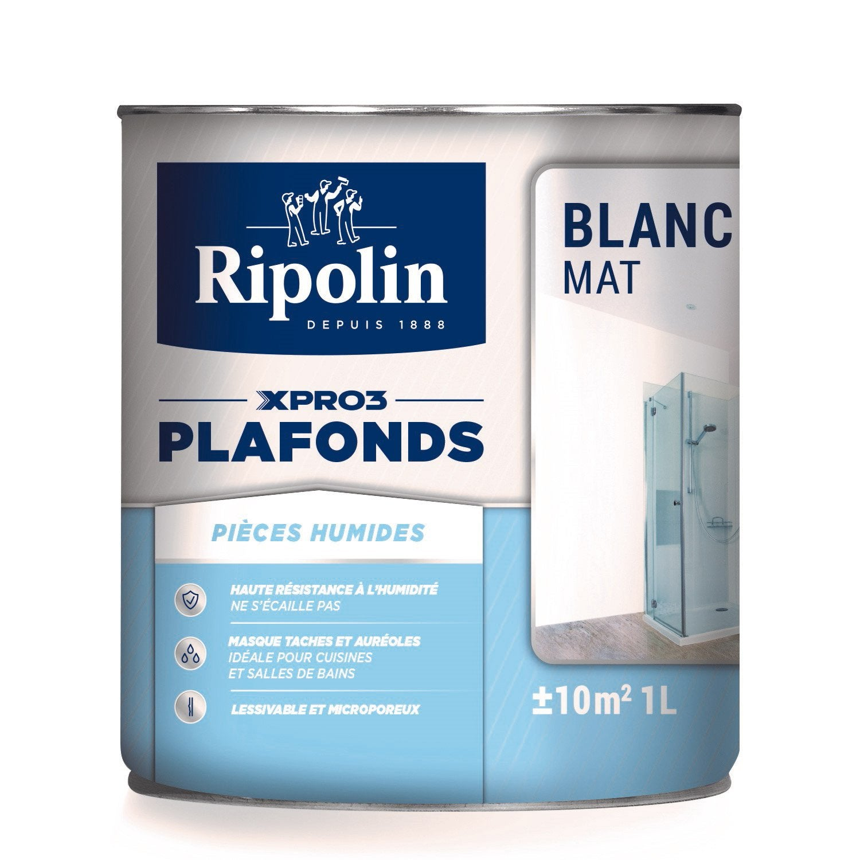 emejing ripolin xpro3 blanc mat contemporary. Black Bedroom Furniture Sets. Home Design Ideas