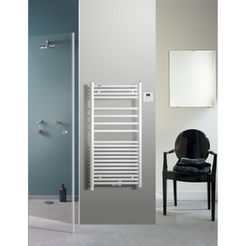 s che serviette radiateur chauffe serviette au meilleur prix leroy merlin. Black Bedroom Furniture Sets. Home Design Ideas