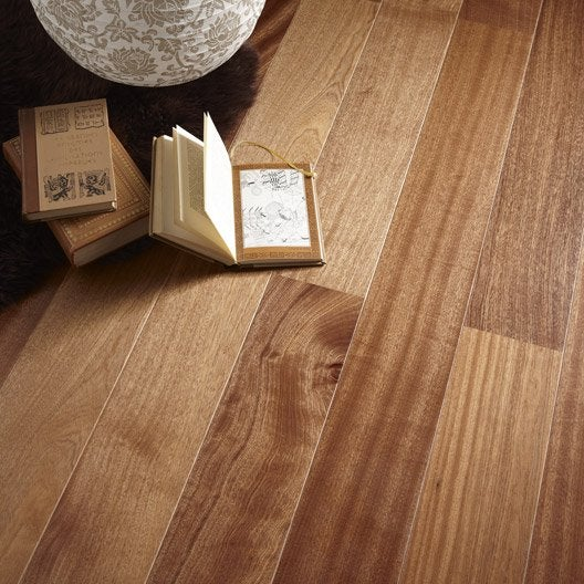 parquet contrecoll sapelli vitrifi l artens leroy merlin. Black Bedroom Furniture Sets. Home Design Ideas