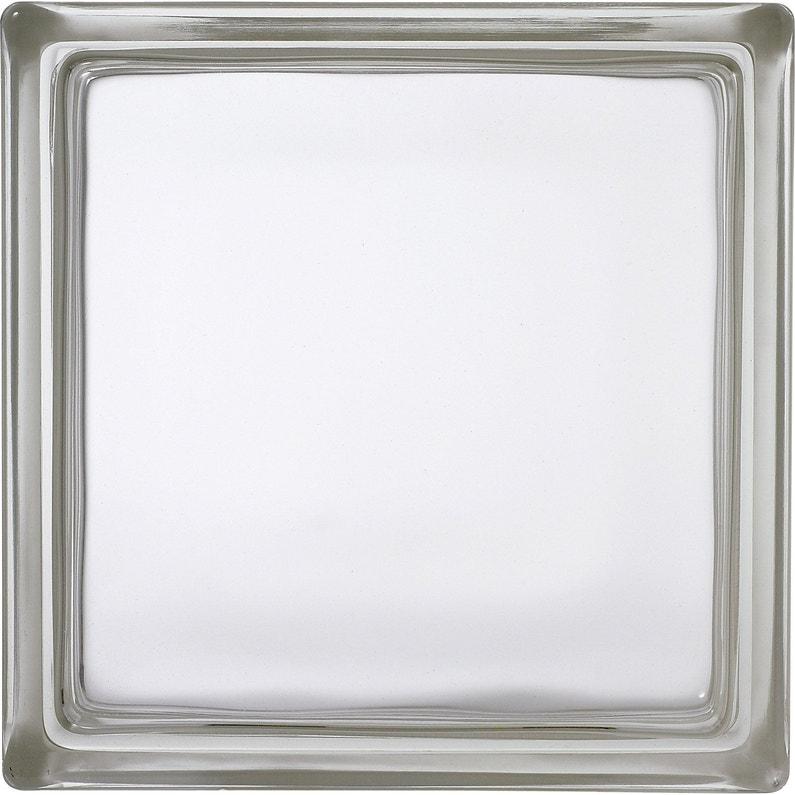 Brique De Verre Transparent Lisse Brillant
