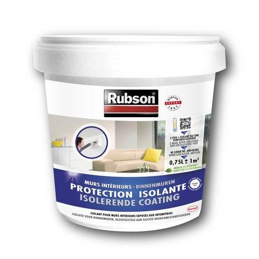 Peinture anticondensation stop condensation rubson blanc l leroy merlin for Peinture anti bruit