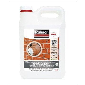 Imperméabilisant façade Stop infiltration, RUBSON incolore 5 l