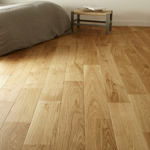 parquet contrecoll broceliande largeur l ch ne bross vitrifi mat leroy merlin. Black Bedroom Furniture Sets. Home Design Ideas