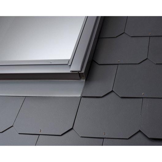 raccord pour fen tre de toit velux edl mk04 gris leroy. Black Bedroom Furniture Sets. Home Design Ideas