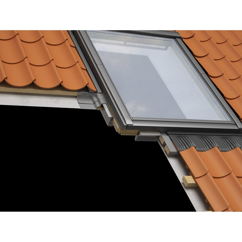 Collerette d 39 tancheit standard pour fen tre de toit - Fenetre de toit velux 78 x 98 ...
