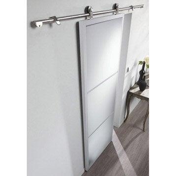 Ensemble porte coulissante porte galandage porte - Portes coulissantes aluminium ...