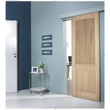 Ensemble porte coulissante porte galandage porte for Porte en verre coulissante leroy merlin