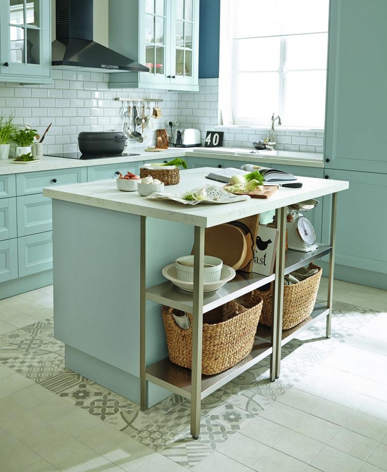 Ilots de cuisine laissez vous tenter - Modele de cuisine leroy merlin ...