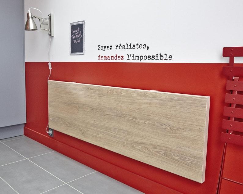Plus de place avec la table rabattable - Table bar rabattable ...