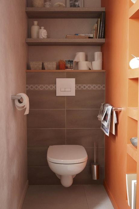 Les wc aussi ont droit la d co leroy merlin for Quelle couleur pour des toilettes