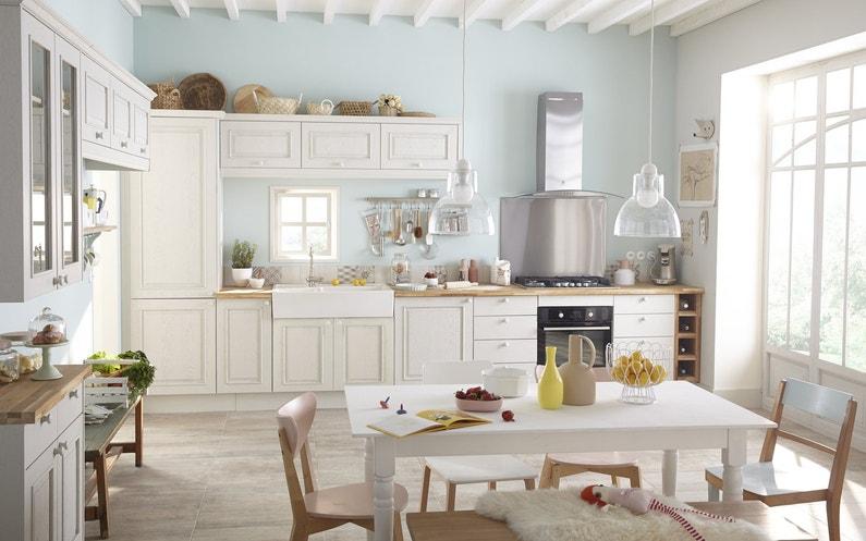 Cuisine Blanc / Beige / Naturel DELINIA Charme / Romantique / Baroque