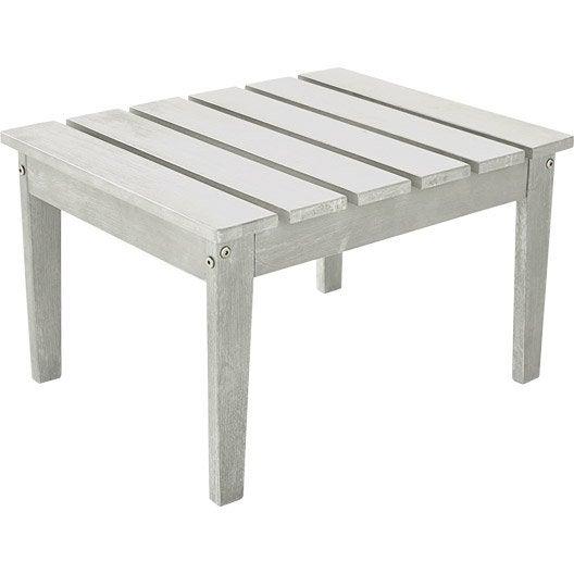 table de jardin basse naterial portofino rectangulaire. Black Bedroom Furniture Sets. Home Design Ideas