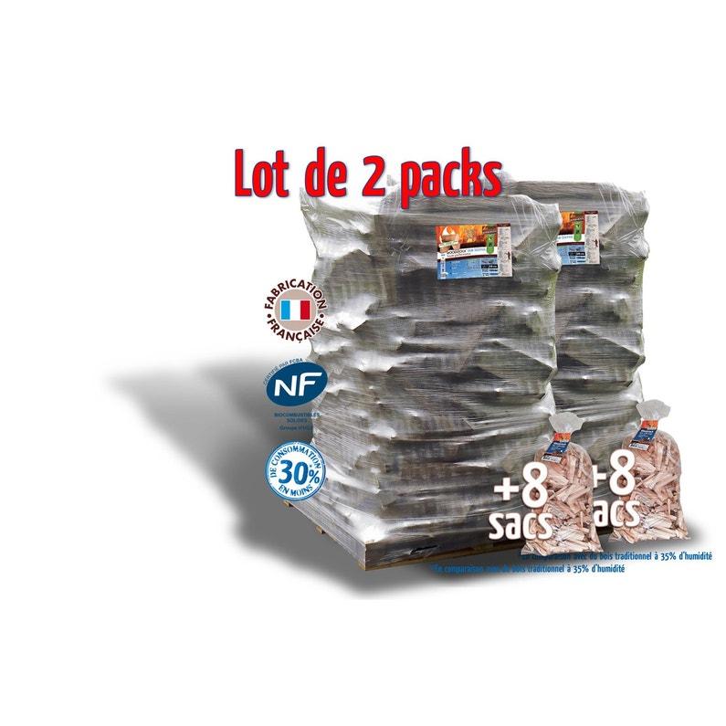 Bois De Chauffage Bûches 25 Cm 3 78m 6 30 Stères 16 Sacs Bois D Allumage