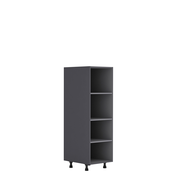 Meuble Colonne Cuisine Leroy Merlin meuble de cuisine demi-colonne delinia id, gris h.137.6 x l.45 x p.58 cm