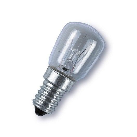 ampoule incandescente pour machine coudre 15w e14 2700k. Black Bedroom Furniture Sets. Home Design Ideas