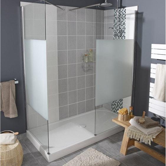 paroi de douche l 39 italienne cm verre s rigraphi 6 mm open 2 leroy merlin. Black Bedroom Furniture Sets. Home Design Ideas
