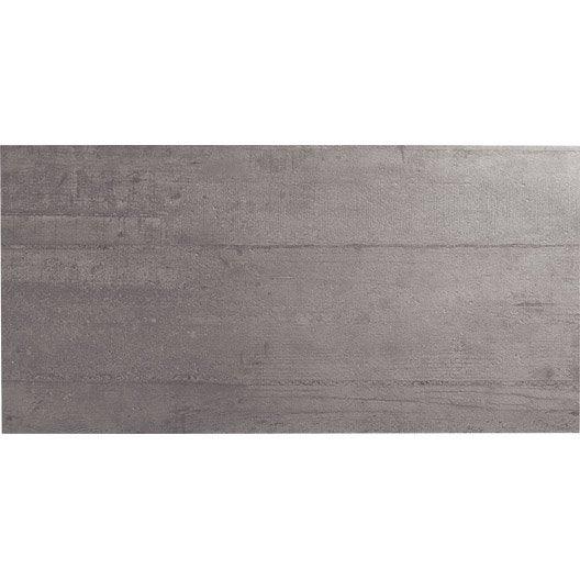 Lot de 3 plinthes industry gris clair l 7 5 x cm leroy merlin - Couleur plinthe ...