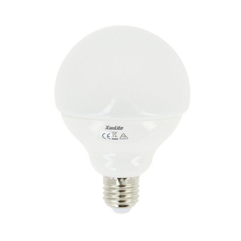 Ampoule Globe Led 105w 806 Lm équiv 60w E27 4000k 100 Xanlite