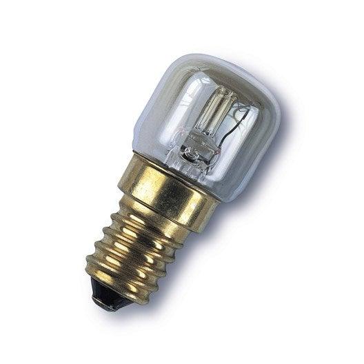 ampoule tube incandescente 15w e14 osram leroy merlin. Black Bedroom Furniture Sets. Home Design Ideas