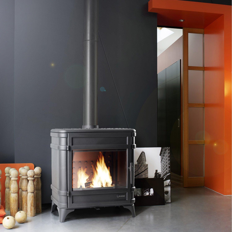 po le bois invicta siam 12 kw leroy merlin. Black Bedroom Furniture Sets. Home Design Ideas