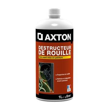 Destructeur de rouille extérieur AXTON, 1 l