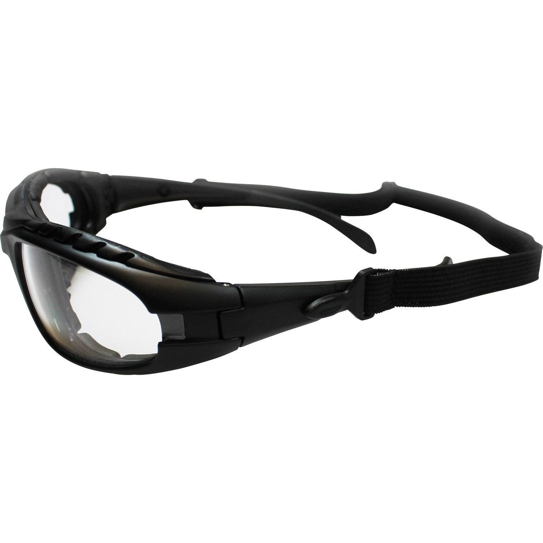 Lunettes masque de protection DEXTER, verre incolore   Leroy Merlin 000ef63952f6