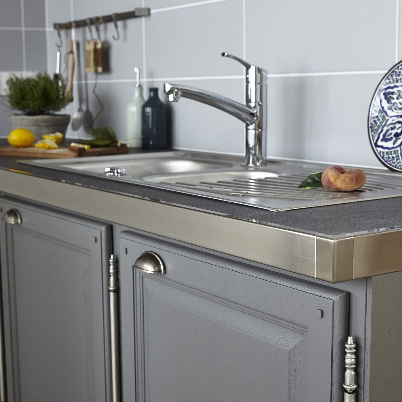 Concept De Rénovation De Plan De Travail Réno Plan Aluminium - Equerre plan de travail cuisine