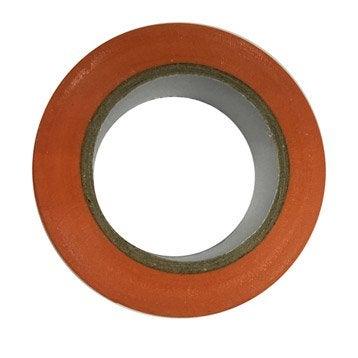 Ruban adhésif orange, L.10 m x l.19 mm
