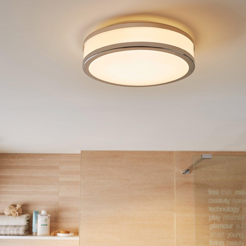 plafonnier sistero led 1 x 24 w led int gr e blanc froid. Black Bedroom Furniture Sets. Home Design Ideas