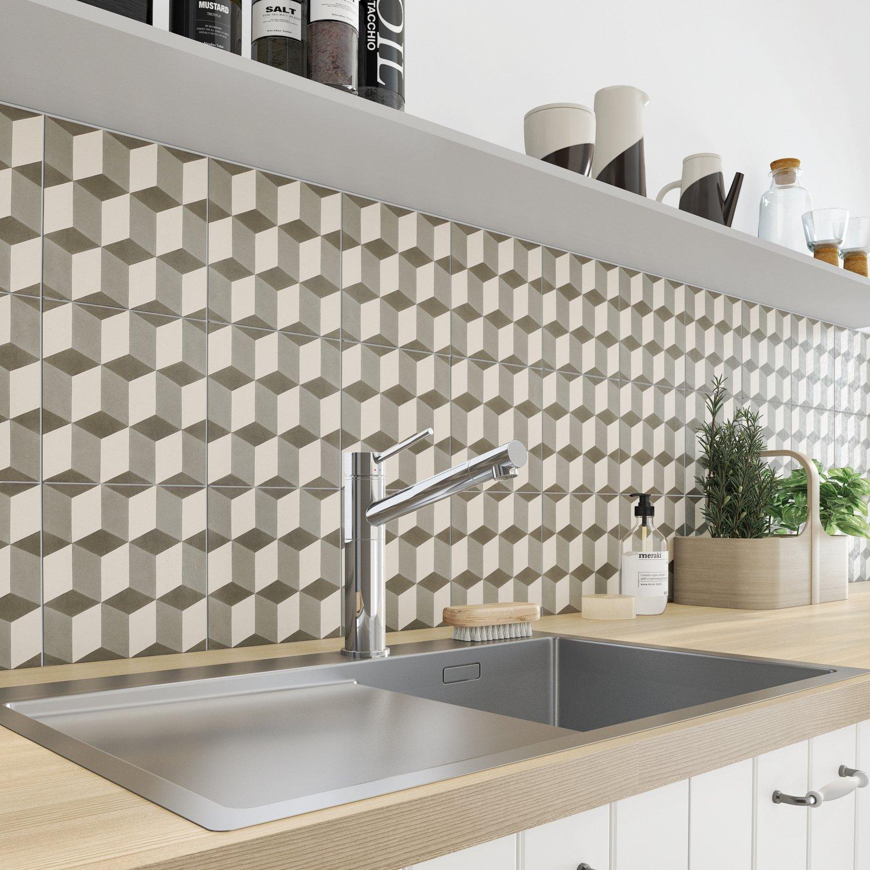 Embellir les murs de la cuisine avec du carrelage - Comment poser du carrelage mural cuisine ...