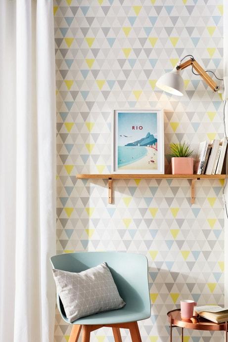 Des murs au style scandinave avec un papier peint tarek