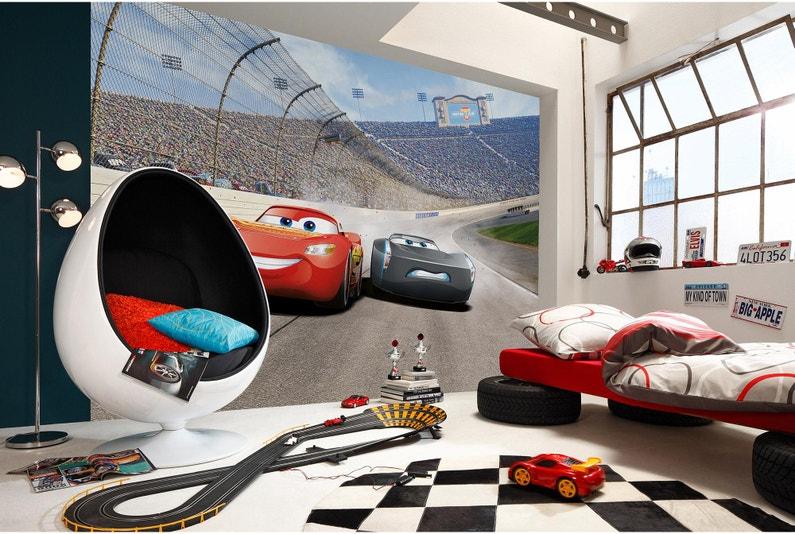 Photo Murale Cars 3 Multicolore Papier Komar L 368 X H 254 Cm