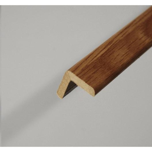 baguette d 39 angle m dium mdf imitation ch ne clair 20 x. Black Bedroom Furniture Sets. Home Design Ideas