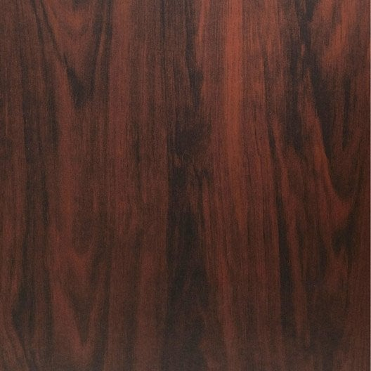 Rev tement adh sif bois brun marron x 1 5 m - Rouleau adhesif imitation bois ...
