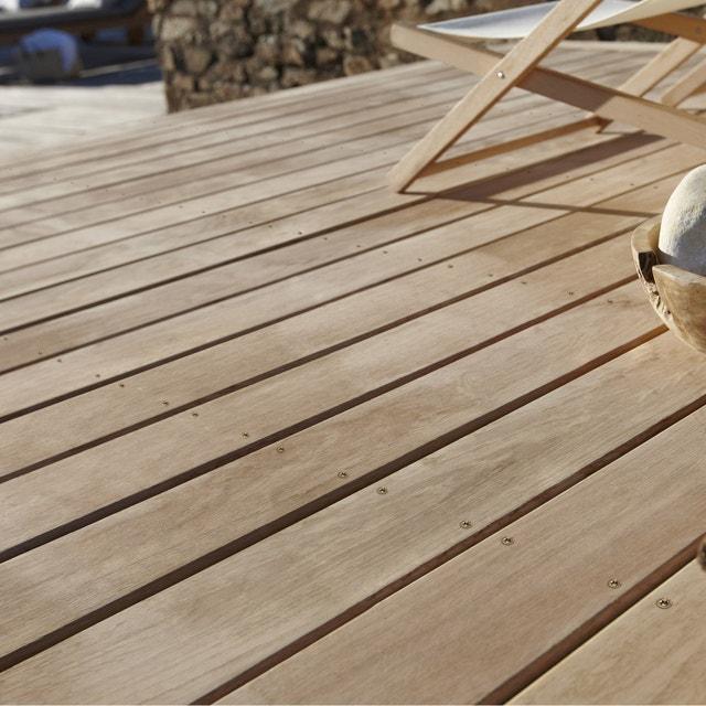 une petite terrasse qui a tout d une grande leroy merlin. Black Bedroom Furniture Sets. Home Design Ideas