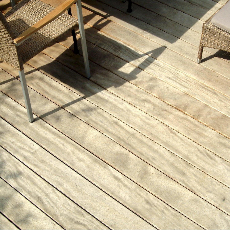 planche bois cumaru naturel l305 x l145 cm x ep21 mm