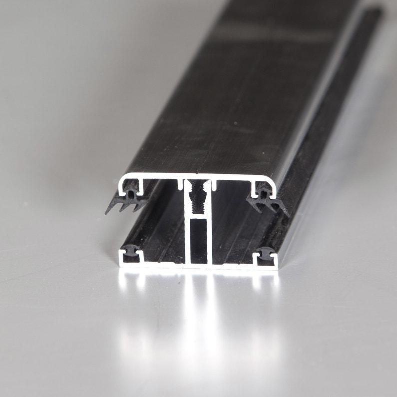 Profil T Sur Mesure Jonction Pour Plaque Ep 16 Mm Aluminium L 0 5 M