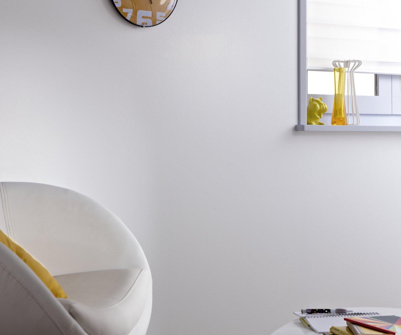 peinture blanche dans le salon leroy merlin. Black Bedroom Furniture Sets. Home Design Ideas
