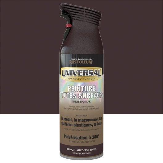 A rosol pour tous mat riaux rustoleum bronze 0 4l - Bombe peinture cuivre ...