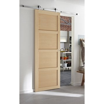 Ensemble porte coulissante porte galandage porte for Porte galandage point p
