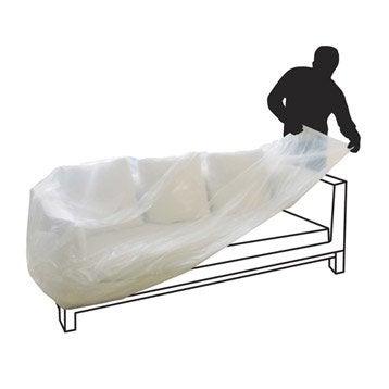 Housse de canapé pour canapé 3 places l.3000 x P.1500 cm