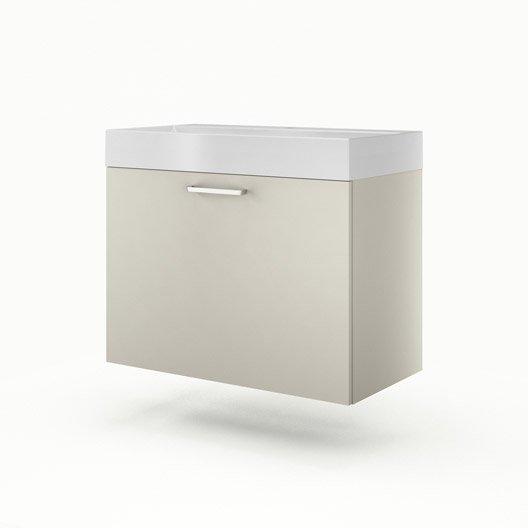 meuble vasque 90 cm gr ge neo line leroy merlin. Black Bedroom Furniture Sets. Home Design Ideas