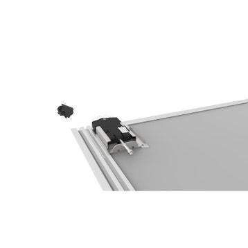 rails et accessoires pour porte de placard au meilleur prix leroy merlin. Black Bedroom Furniture Sets. Home Design Ideas